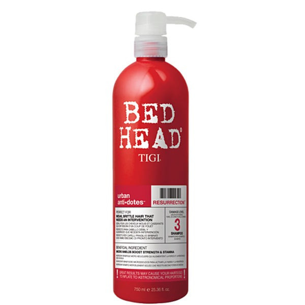 Tigi Bed Head Urban Antidotes Resurrection Shampoo 750 ml